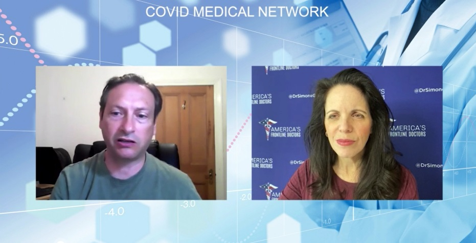 Covid Medical Network - Dr. Simone Gold - Early Covid Treatments Webinar - HCQ Dose Recommendation