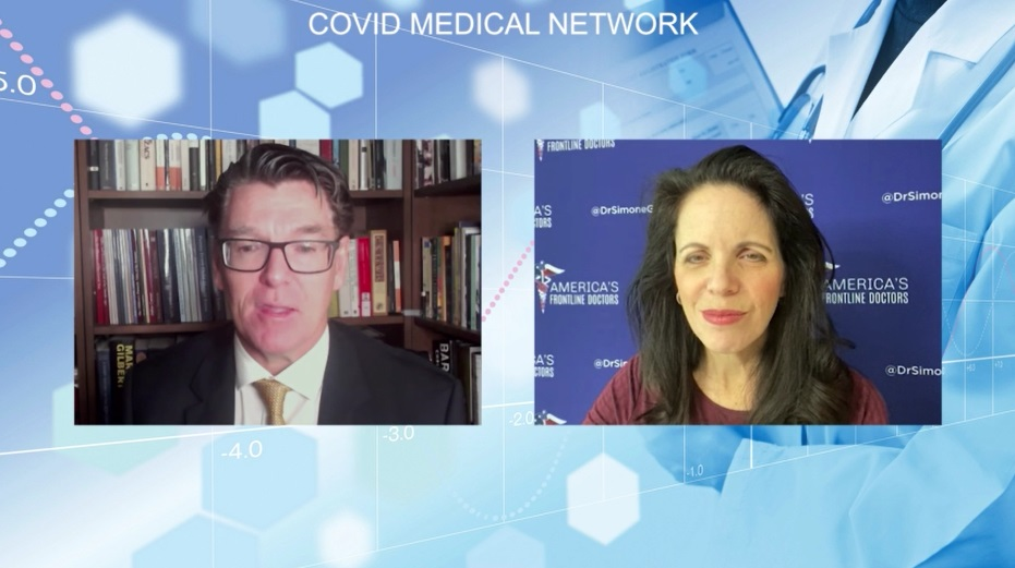 Covid Medical Network - Dr. Simone Gold - Early Covid Treatments Webinar