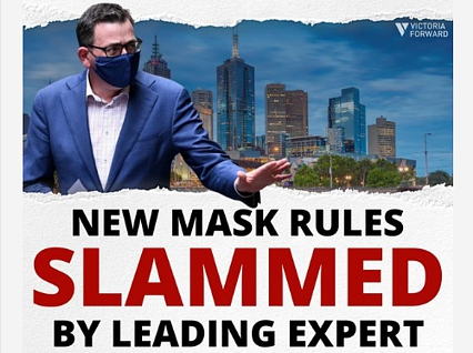 NEW mask rules slammed by leading expert  | Covid-19